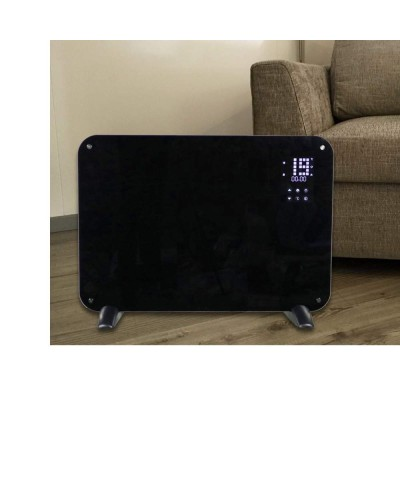 Wall heating - Heating panel - Leo black 12702 GMR TRADING - 2