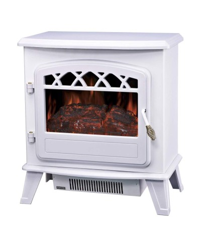 Heating - Electric fireplace - Ilona Bianca 00190 GMR TRADING - 1