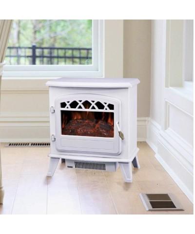 Heating - Electric fireplace - Ilona Bianca 00190 GMR TRADING - 2