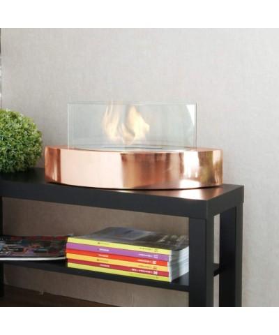 Table heating - Bioethanol fireplace - Vanda ROSE '00099 fireplace GMR TRADING - 1