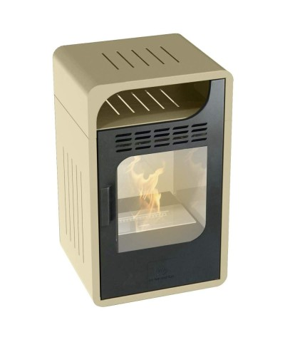 Heating - Static Bio-stove - Fiammetta Junior Beige 00253 GMR TRADING - 1
