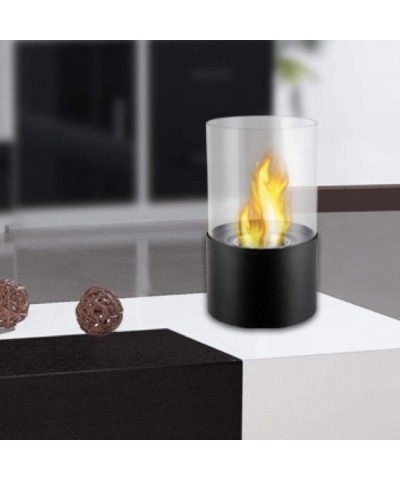 Table heating - Bioethanol fireplace - Giotto Nero fireplace 00122 GMR TRADING - 1