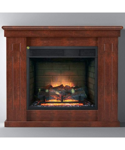 Heating - Electric Fireplace - Chiara Slim Walnut 00187 GMR TRADING - 2
