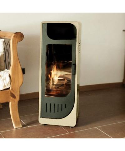 Riscaldamento domestico - Biostufe Statiche - Beige - Fiamma - 00230 GMR TRADING - 2