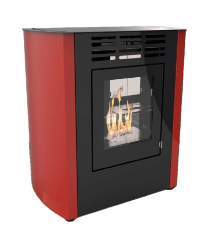 Home heating - Ventilated bio-stoves - beige - Melodia junior - 00227 GMR TRADING - 1