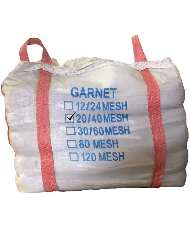 Garnet Indian 20 - 40 mesh abrasive blasting 1000Kg Garnet GMA - 1