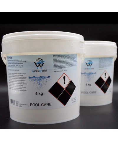 pH plus aumentador pH agua piscina - corrector de pH granulado 10Kg LordsWorld Pool Care - 2