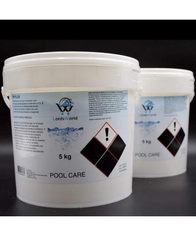 pH plus swimming pool water pH increaser - granular pH corrector 10Kg LordsWorld Pool Care - 2