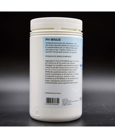 pH menos agua de piscina reductor de pH - corrector de pH granular 1Kg LordsWorld Pool Care - 1