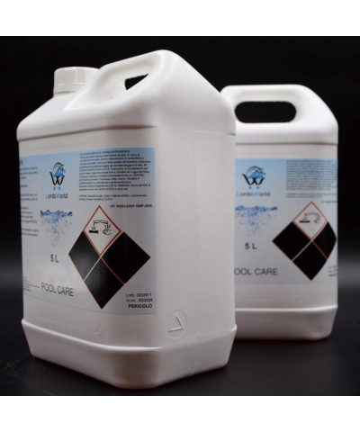 Degreaser for pools edge and area - Alkaline liquid treatment 10Lt LordsWorld Pool Care - 3