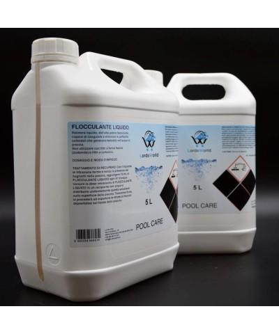 Floculant liquide - Clarificateur d'eau piscine - anti-turbidité 10L LordsWorld Pool Care - 2