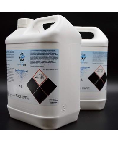 Flocculante Liquido - Chiarificatore Acqua Piscine - Antitorbidità 10L LordsWorld Pool Care - 3