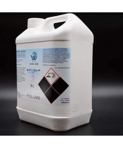 Flocculante Liquido - Chiarificatore Acqua Piscine - Antitorbidità 5Lt LordsWorld Pool Care - 3
