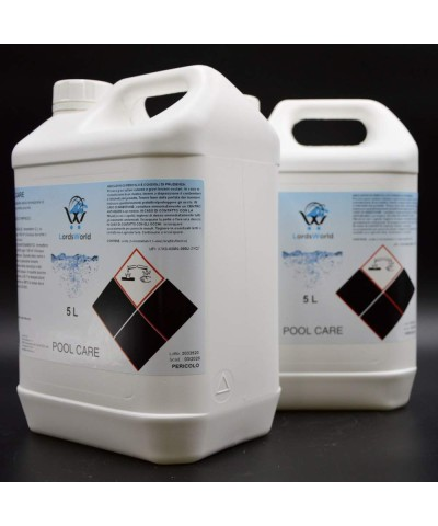 Liquid anti-limescale - prevents limescale formation for pools 10Lt LordsWorld Pool Care - 4