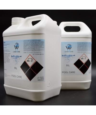 Anticalcare liquido per piscine - Previene formazione calcarea 10Lt LordsWorld Pool Care - 4