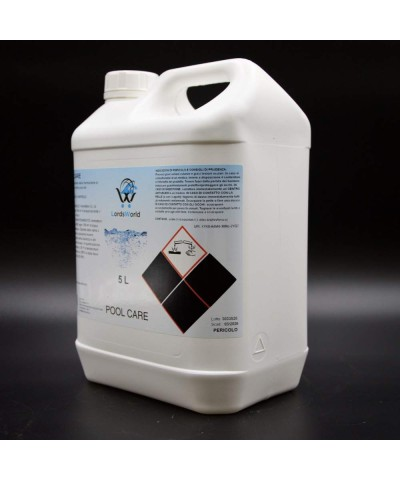 Liquid anti-limescale - prevents limescale formation for pools 5Lt LordsWorld Pool Care - 3