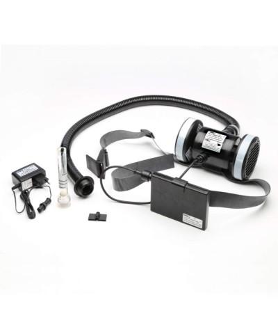 Casco protettivo con Elettrorespiratore per Sabbiatura 0313218 Kasco - 3